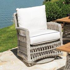 Mackinac Swivel Lounge Glider Chair with Cushions