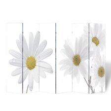 6-tlg. Raumteiler Blumen, 180 x 240 cm