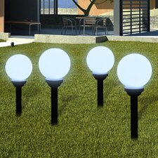 LED Pathway Lighting Set (Set of 4)