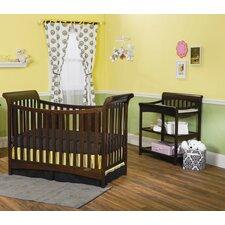 Ashton 3-in-1 Convertible 2 Piece Crib Set