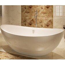 HelixBath Tholos 71 x 35.5 Soaking Bathtub by Kardiel