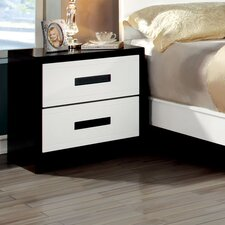 Verzaci 2 Drawer Nightstand by Hokku Designs
