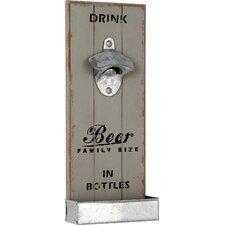 Wall Hanging Bottle Opener