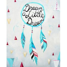 'Dream A Little Dream' by Liz Clay Painting Print on Canvas