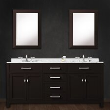 Fran 60 Double Bathroom Vanity Set with 2 Mirror by Darby Home Co