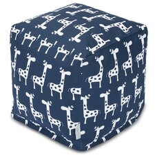 Stretch Cube Ottoman by Majestic Home Goods