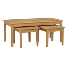 Hanlon 3 Piece Coffee Table Set