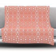 Santos by Pom Graphic Design Fleece Throw Blanket