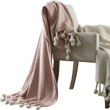 Geometric Cotton Throw Blanket