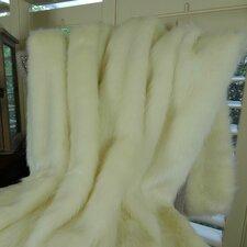 Arctic Fox Handmade Throw