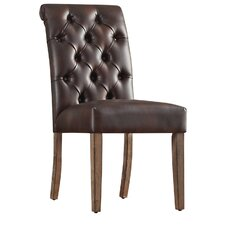 Pompon Tufted Side Chair (Set of 2)