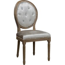Ophelia Tufted Fabric Dining Chair (Set of 2)