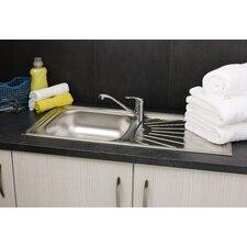 86cm x 43.5cm Single Bowl Kitchen Sink