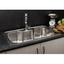 Jumbo 86cm x 51cm Single Bowl Inset Kitchen Sink