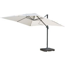 10' Square Cantilever Umbrella with Base