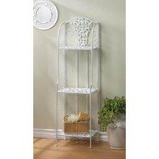 Lace Design 49 H Three Shelf Accent Shelf by Zingz & Thingz