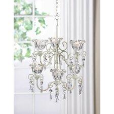 Blooms 6-Light Crystal Chandelier