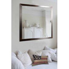 Large Flat Stainless Wall Mirror