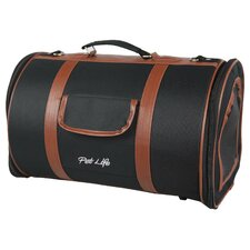 Airline Approved Fashion 'Bark Avenue' Cylinder Posh Pet Carrier