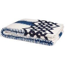 Wenzel Feathered Stripe Throw Blanket