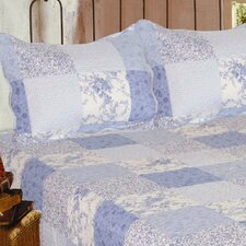 Mary Quilt Cotton Throw