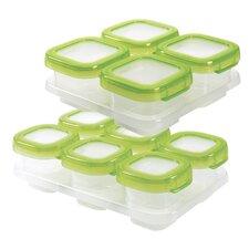 Tot Baby Blocks 12 Container Food Storage Set