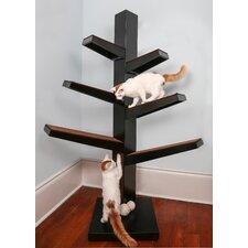 """68"""" Catalpa Cat Tree"""