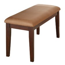 Yonkers Upholstered Dining Bench by Alcott Hill