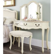 Lemaire Dressing Table Set with Mirror