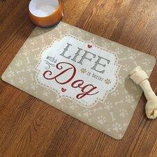 Life with a Dog Rug Pad
