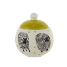 Dotty Sheep Sugar Bowl with Lid