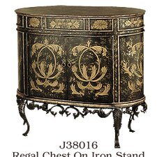 Regal 2 Door Cabinet on Stand by JB Hirsch Home Decor