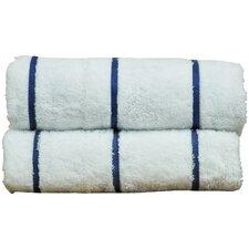 Luxury Hotel and Spa Towel 100% Genuine Turkish Cotton Pool Beach Towel (Set of 2)
