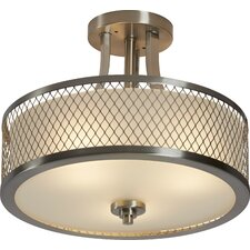 Lofton 3-Light Semi Flush Mount
