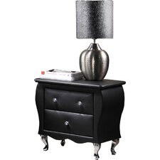 Rosanna 2 Drawer Nightstand by House of Hampton®