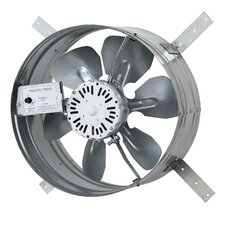 1220 CFM Gable Mount Attic Fan with Adjustable Thermostat