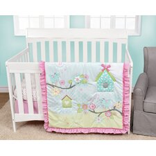 Garden Song 4 Piece Crib Bedding Set
