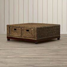 Bayberry Woven Coffee Table by Beachcrest Home