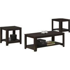 Cochrane 3 Piece Coffee Table Set by Andover Mills