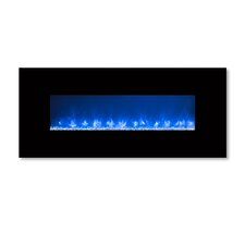 Ambiance Custom Linear Delux 2 Wall Mount Electric Fireplace