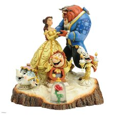 Disney Traditions Tale as Old as Time (Carved by Heart Beauty and The Beast) Figurine