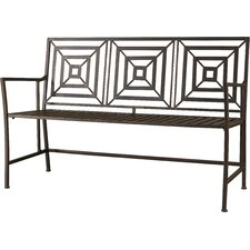 New Meadows Metal Garden Bench