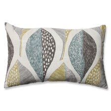 hilldale leaf rain cotton lumbar pillow - Decorative Lumbar Pillows