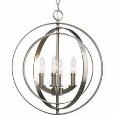 Morganti 4-Light Globe Pendant