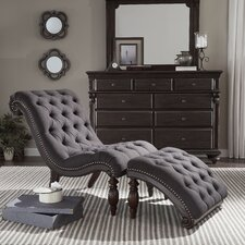 Celya Chaise Lounge and Ottoman Set