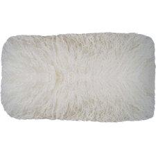 quick view halifax tibetan wool lumbar pillow product features - Decorative Lumbar Pillows