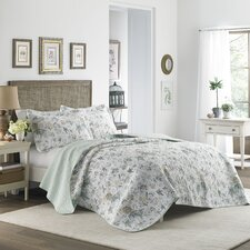 Breezy Reversible Quilt Set by Laura Ashley Home