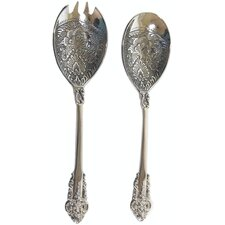 Baroque 2 Piece Salad Servers Set