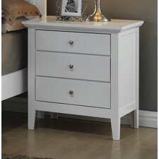 Brooks 3 Drawer Nightstand by Just Cabinets Furniture and More