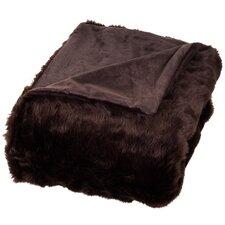 Bertha Faux Fur Throw Blanket